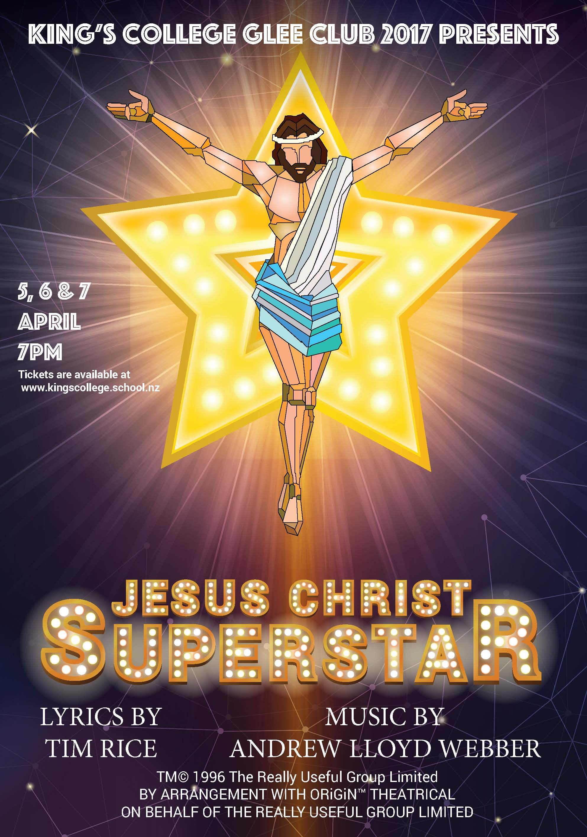 170111 Jesus Christ Superstar Poster A2 V4 1