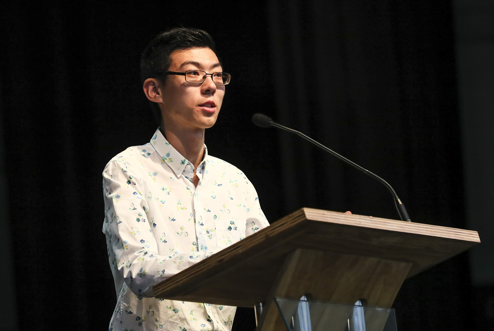 William Wang Speaking