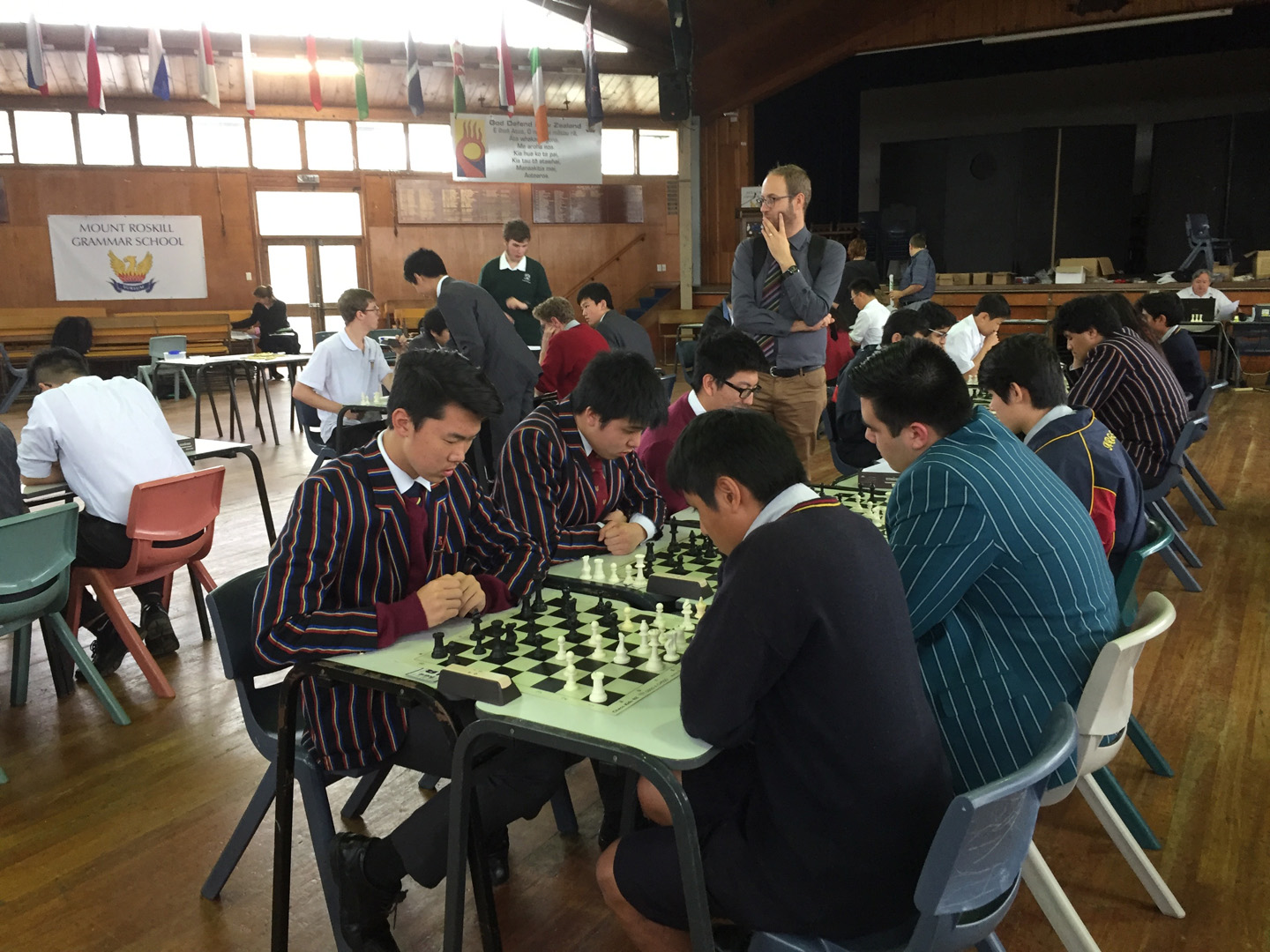 240617 King's Chess Club Qualify For New Zealand Interschool Finals