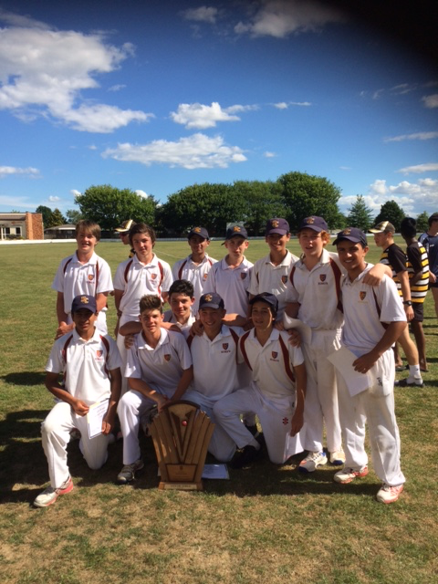 Cricket Vettori Shield Champs