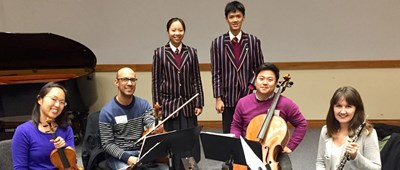 Student compositions win top awards in the Chamber Music Composition