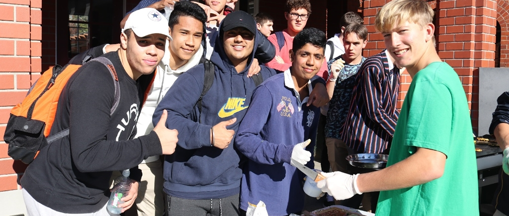 Averill students at the 2019 King's House Cook Off