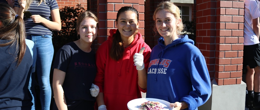 King's students at the 2019 House Cook-Off